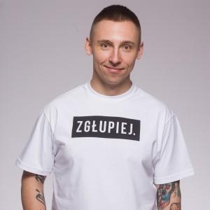 Koszulka Zgłupiej Pierwszy Milion Biała