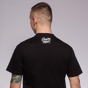 Koszulka Zgłupiej Pierwszy Milion Czarna