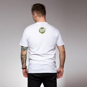 Koszulka Idealnie Niedoskonały Biało/Ziel