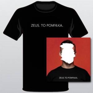 ZEUS. TO POMYŁKA. (bonusy,autograf) + T-shirt (PREORDER 28.09.18)